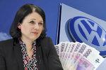 """V USA rozdal VW za skandál """"balík"""", EU ostrouhá. """"Nemáme páky,"""" zuří Jourová"""