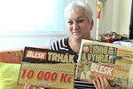 V Trháku získala Jitka Malá (53) z Prahy 10 000 Kč: Za výhru pojedu do wellnessu