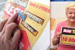 Poprvé vyhrála v Trháku: Bohuslava z Libiny dá 10 tisíc na léky a lázně