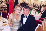 Monika a Andrej působí jako šťastný pár.