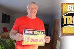 Superhra Blesku Trhák? Pavel Nytra (66) z Řepiště: 10 tisíc jsem cítil v kostech!