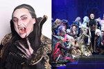 Ples upírů roztančí, pobaví i vyděsí: Maskování zombíků zabere hodiny!