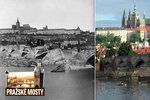 Karlův most v minulosti zničily povodně: Opravy probíhaly podle unikátního deníku