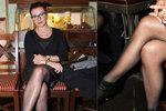 Ukrutně sexy Dana Morávková (45): Odhalila stehýnko v kožené sukni