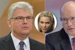 """Sobotka podržel Ludvíka u práce snů. Ministr kvůli ní """"sprdl"""" mluvčí"""