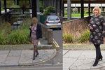 Muž našel na Google Street View kamarádku, kterou jel právě vyzvednout