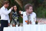 Princ Harry a sexy herečka Meghan: Svatba na Jamajce! Ona byla za bohyni, on za svědka