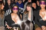 Nicki Minaj se nahoty nebojí: Na módní přehlídce vytasila ňadro!