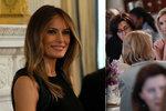 Trumpova žena a dcera slavily MDŽ v Bílém domě. Na prvním banketu první dámy