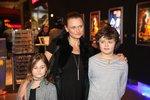 Jana Adamcová vyrazila s dětmi do kina: Ze syna Daníka (11) je chlap jako hora
