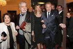 Premiéra Gottova muzikálu Čas růží byla plná slavných tváří! Dorazil i Miloš Zeman s manželkou