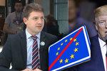 EU používá dotace jako nátlak na Česko, tvrdí Mach a fandí Trumpovi