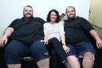 Bohatí bratři (222 + 150 kg) ve Jste to, co jíte: Jde jim o život!