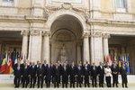 Unie slaví 60 let. Lídři 27 zemí, včetně Sobotky, chtějí její pokračování