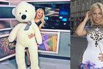 Překvapení pro Evu Perkausovou: K 23. narozeninám dostala medvěda v přímém přenosu