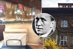 Co se děje v Čapkově vile? Stěhováci z domu odnáší nábytek