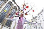 Klauny v Brně zaskočily Velikonoce: Tradiční happening se na apríla konat nebude