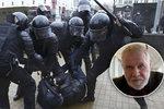 Štětina burcuje proti Lukašenkovi: Bělorusy zmlátili jak o Palachově týdnu