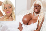 Martina (28) má ňadra číslo 19 a říká: Jsou největší v Evropě! Píchá si injekce, aby byla jako černoška