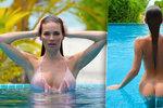 Andrea Verešová úplně nahá! V bazénu odhodila nakonec i plavky