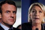 Volby ve Francii ovládla Le Penová a Macron: Ona chce změnu, on stmelit zemi