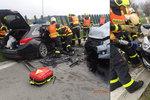 Při nehodě byly zraněny dvě děti.