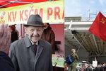 Pokladní doplatila na nacistické symboly. A co ty sovětské? Komunisté gumují srpy!