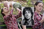 Nejmladší potomek Jaggera (73) z Rolling Stones: S maminkou (30) dováděl v parku