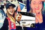 Když hvězdy fandí: Doležalová, Dejdar nebo Bezděková na hokejovém mistrovství