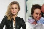 Vlastina Svátková o dramatickém porodu syna: Kolem krku měl pupeční šňůru!