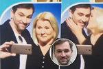 Ondřej Sokol narušil přímý přenos: Vlezl do záběru sluchově postiženým kvůli selfie s tlumočnicí