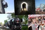 Kam se vydat o víkendu v Praze? Na vozík, parním vlakem a na pivo