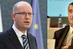 """Babiš hrozí Sobotkovi žalobou za """"lži o šizení"""". Premiér: Nezastraší mě"""