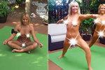 Blonďatá moderátorka se rozhodně nestydí: Jógu cvičí úplně nahá a často ukazuje rozkrok