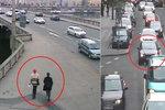 Gauneři z BMW stříleli na Jiráskově mostě po dvojici mladíků: Hledá je policie