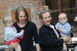 Klus s těhotnou Tamarou se pochlubili dětmi: Kdo je komu podobný?