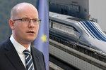 Sobotka a Ťok vyhlížejí první rychlovlaky. Kdy se v Česku začnou stavět tratě?