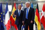 Trump jednal s šéfem Evropské rady: Na Rusku jsme se neshodli