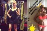 Hvězda Ulicie Solaříková se svlékla do plavek! Ale co to má v pupíku?