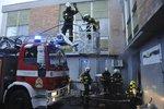 Další požár ve filmových ateliérech na Barrandově. Škoda činí 800 tisíc