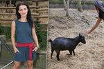 Markéta Procházková z Tváře: Zvládla souboj i mazlení s kozou