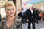 Exmanželka Trumpa Ivana: Utajený přílet do Česka! Armáda bodyguardů a královské bydlení