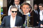 Hvězda Avengers Jeremy Renner ve Varech: Po tiskovce spěchal na oběd do vyhlášené restaurace, kde jedl Gott, Malkovich či Banderas