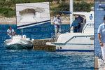 Utopený Čech Adam v Chorvatsku: Loď, do které narazil, málem poslal ke dnu