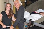 Exmilenka Langerové Špátová (33): S partnerem Malířem (68) vyvezli dvouměsíční dceru Olgu