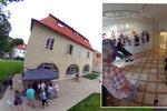 Werichova vila na Kampě: Takto vypadá na 360° fotkách