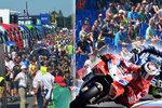 Grand Prix Brno: Vedro a davy na tribunách, peklo na silnicích a idyla na okruhu