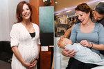 Těhotná Andrea Kerestešová: Zvažovala jsem, že bych snědla placentu