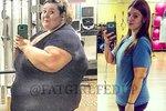 Ještě před rokem vážila 220 kilogramů! Dnes je o polovinu lehčí! Jak to dokázala?