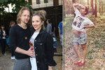 Brzy trojnásobný otec Klus: Zveřejnil foto těhotné manželky těsně před porodem!